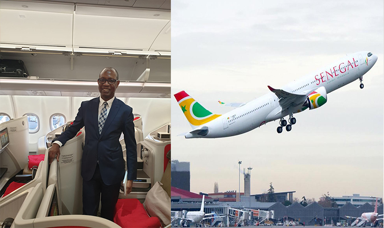 Air Sénégal : son Airbus A330 Néo'